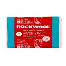 Звукоизоляция Rockwool / Роквул Акустик Баттс 1000x600x100мм (3м2; 0,3м3)