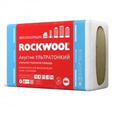 Звукоизоляция Rockwool / Роквул Акустик Баттс Ультратонкий 1000х600х27мм (7,2м2; 0,194м3)