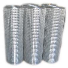 Сетка оцинкованная сварная 25х25х0.8 мм рулон 1х25 м