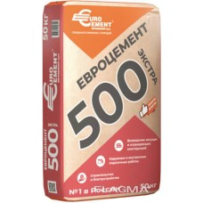 Евроцемент М500 Д20 50кг