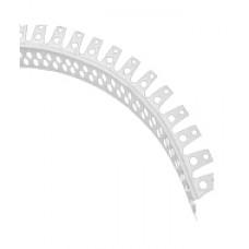 Уголок ПВХ арочный 25х25мм 3м