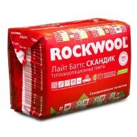 Утеплитель Rockwool / Роквул Лайт Баттс Скандик 800х600х50мм (5,76м2; 0,288м3)