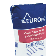Пескобетон М-300 Евромикс / Euromix 40кг