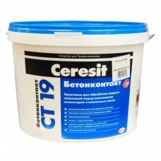Бетоноконтакт Церезит / Ceresit CT-19 15кг
