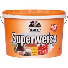 Краска Superwiess акриловая Dufa 10л