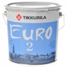 Краска Tikkurila Euro-2 интерьерная 10л