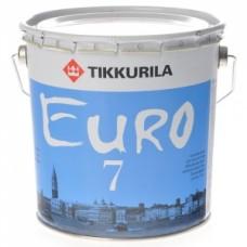 Краска Tikkurila Euro-7 интерьерная 10л
