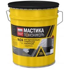 Мастика битумная Технониколь № 24 МГТН 20кг