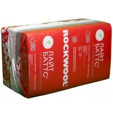 Утеплитель Rockwool / Роквул Лайт Баттс 1000x600x50мм (6м2; 0.3м3)