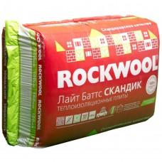 Утеплитель Rockwool / Роквул Лайт Баттс Скандик 800x600x100мм (2,88м2; 0,288м3)