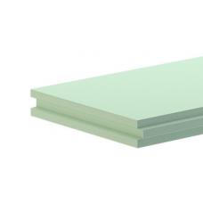 Пазогребневая плита Гипсополимер влагостойкая 667х500х100мм полнотелая