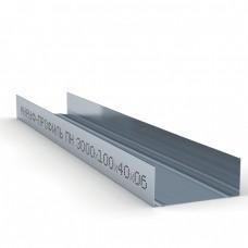 Профиль направляющий ПН-6 100х40х0,6мм Кнауф 3м