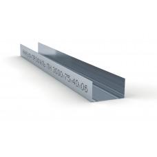 Профиль направляющийПН-4 75х40х0,6  Кнауф 3м