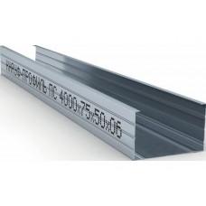 Профиль стоечный ПС-4 75х50х0,6мм Кнауф 4м