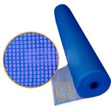 Сетка фасадная синяя 5х5мм 160г/м2 (1х30м) Fiber