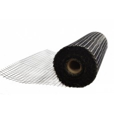 Сетка сварная черная 25х25х1,6мм 1x50м Россия