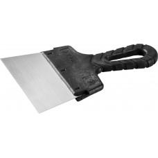 Шпатель малярный стальной  с пластмассовой ручкой 150мм