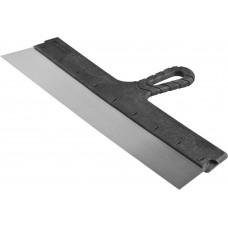 Шпатель малярный стальной  с пластмассовой ручкой 450мм
