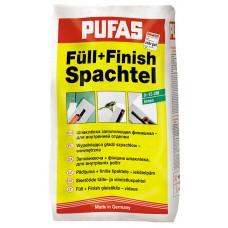 Шпатлевка финишная гипсовая Пуфас / Pufas Full+Finish Spachtel 20кг