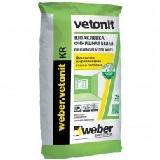 Шпатлевка полимерная финишная Ветонит / Vetonit KR 20кг